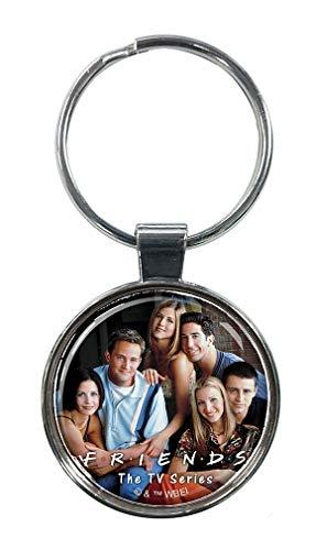 Ata-Boy Friends TV Comedy Sortiment 2 3,8 cm Schlüsselanhänger für Schlüssel, Rucksack und mehr - mehrfarbig - Einheitsgröße