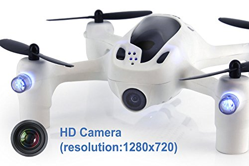 Hubsan H107D+ FPV X4 Plus RTF Quadcopter with 720p HD Camera, Includes...