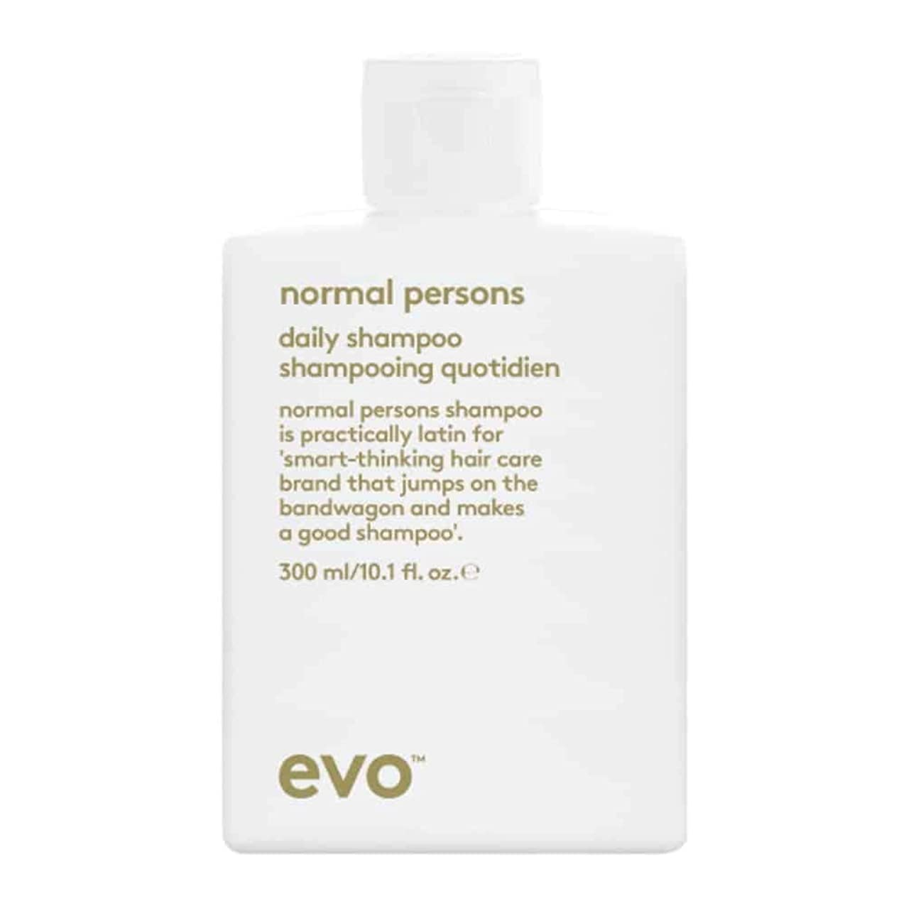 ハーブ必需品それにもかかわらずEvo Normal Persons Daily Shampoo (For All Hair Types, Especially Normal to Oily Hair) 300ml/10.1oz