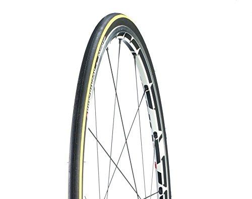 HUTCHINSON Fahrrad Reifen Equinox 2 // alle Größen, Dimension:23-622 (28´´) 700×23C, Ausführung:schwarz/gelb. Faltreifen
