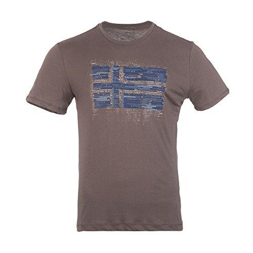 NAPAPIJRI Sabanilla T-Shirt, Marrone (Taupe Brown), X-Large Uomo