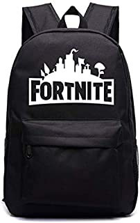 Fortnite luminous unisex backpack youth campus schoolbag