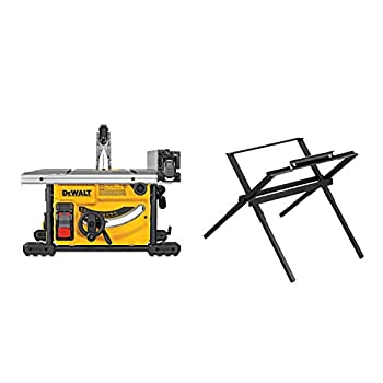 DEWALT DWE7485WS 8-1/4 in Compact Jobsite Table Saw With Stand