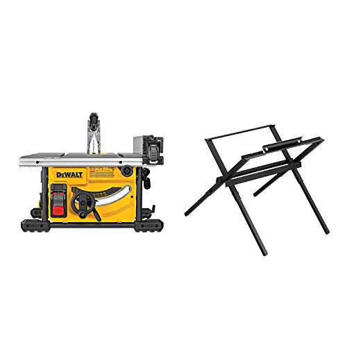 DEWALT DWE7485WS 8-1/4 in. Compact Jobsite Table Saw With Stand