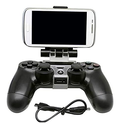 Soporte inteligente de teléfono móvil para mando de la consola, para Playstation 4, PRO, SLIM