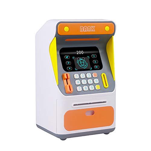 Binhe Hucha automática para niños, diseño de Piggy, color naranja