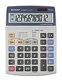 Sharp EL-2125C - Calculadora (Calculadora de impresión, 12 dígitos)