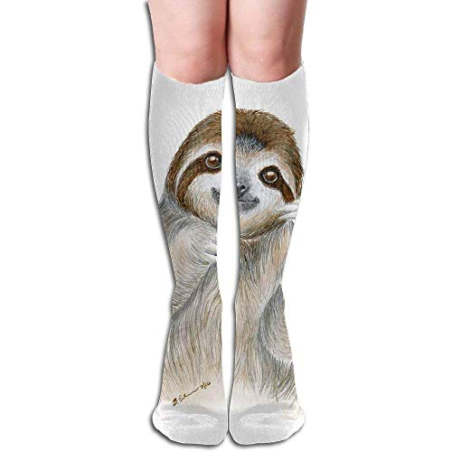 Unique Design Big Girls/Women Cartoon 3D Pattern Knee High Socks Compression Socks