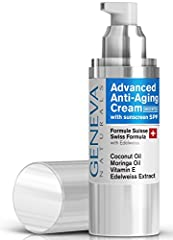✅ FACE CREAM WITH SPF 20 FOR DAILY USE: Our Natural Swiss Formula combines Edelweiss, a unique plan that grows in the Swiss Alps, with Coconut Oil and Vitamin E to help diminish the appearance of fine lines and wrinkles while the sunscreen helps prot...