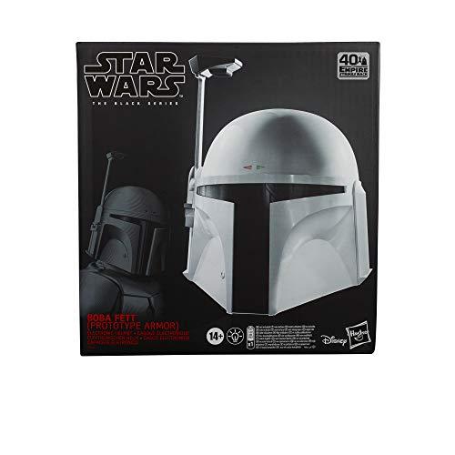 Hasbro Star Wars The Black Series Boba Fett (Prototyprüstung) elektronischer Premium Helm Star Wars: Das Imperium schlägt zurück Rollenspielprodukt