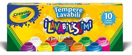 Crayola Washable Kids Paint 2Oz 10/Pkg-Basics