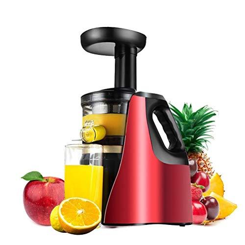 BLWX LY Licuadora Prensado en Frio, Lenta fría Juicer de la Prensa de la máquina extractora de Humos, de Alta nutrición Licuadora fácil de Limpiar, de Las Frutas Vegetales