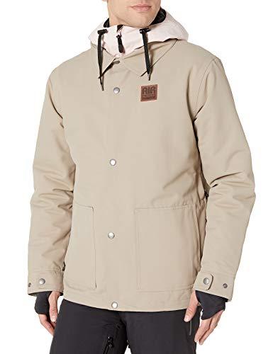 AIRBLASTER Herren-Arbeitsjacke, leicht isoliert, Herren, Snowboard-Jacken, Work Jacket Lightly Insulated Outerwear, Ziegenröte, Large