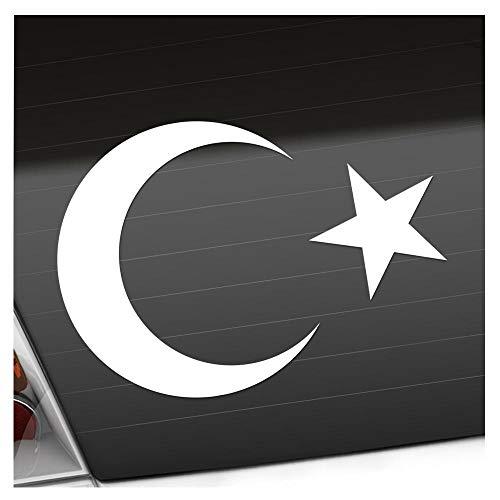 Kiwistar Türkei Wappen Aufkleber Sticker 25 Farben Neon Matt Chrome