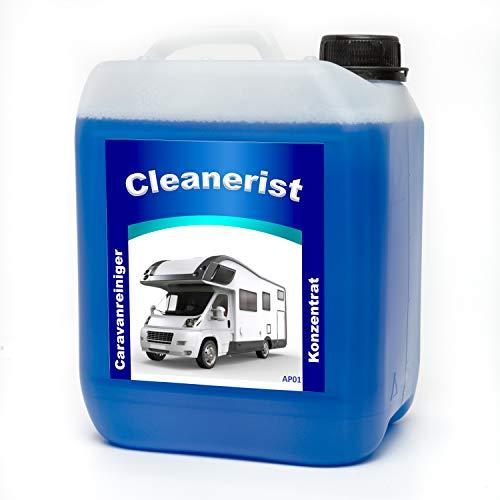 10 Liter - Cleanerist Caravanreiniger Konzentrat- spezieller Reiniger für Caravan, Wohnwagen, Wohnmobil und Reisemobil -