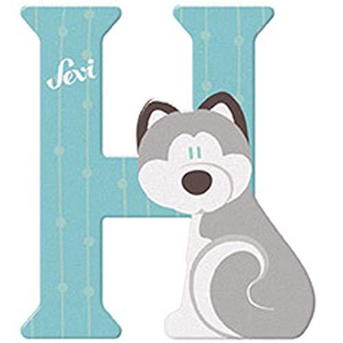 Sevi 83008 Buchstabe H Husky - 10 cm