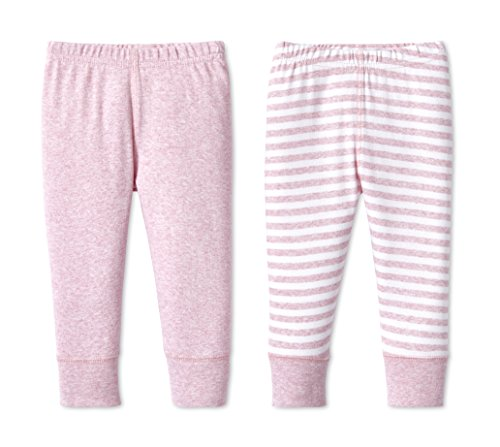 Lamaze Organic Baby Baby Organic Essentials 2 Pack Pants, Pink, 18M