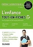 L'enfance - Tout-en-fiches - Prépas scientifiques Français-philosophie - Programme 2021-2022 (Hors Collection)
