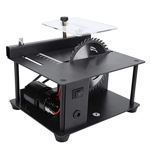Sega da banco, mini sega da tavolo portatile di largo uso, multifunzionale per la lavorazione del legno fai da te