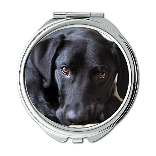Yanteng Taschenspiegel, Taschenspiegel Spiegel, Doppel-seitig, New-York Taschenspiegel Spiegel für Männer/Frauen MT 070