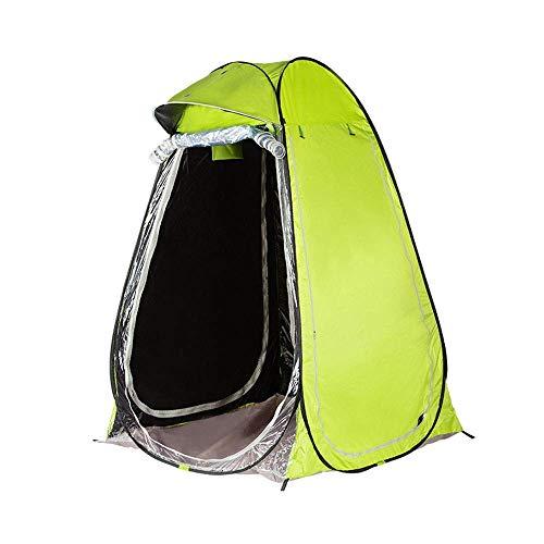 LHQ-HQ Fishing Tent Single Rain Shelter Canopy Double Winter Fishing Thick Windproof Sun Fishing, Sun Protection (green) Automatic Camping Tent