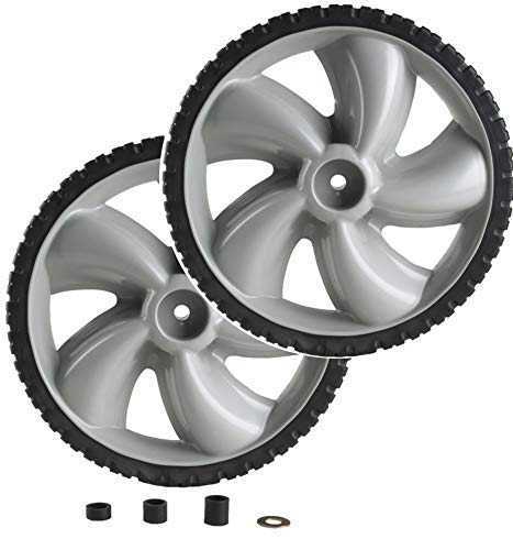 Arnold Mower Wheel 12 in. X 1.75 in. 50 Lbs. - Set of 2