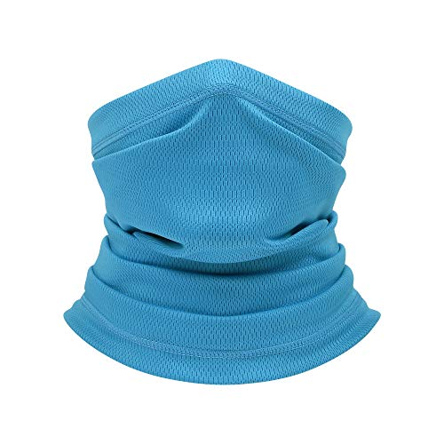 UHEREBUY Summer Neck Gaiter Face Scarf/Neck Cover/Face Cover for for Running Hiking Cycling