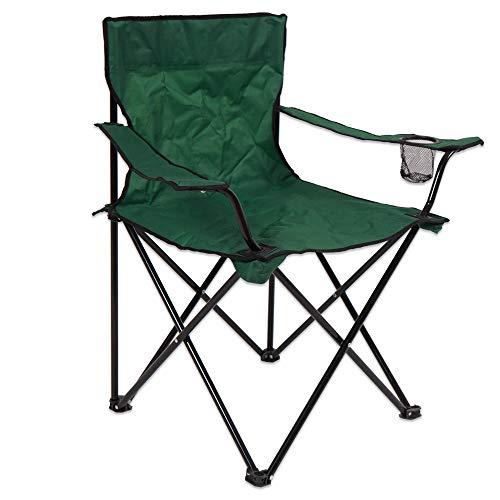 LOLAhome Silla Plegable de Camping de Acero (Standard)