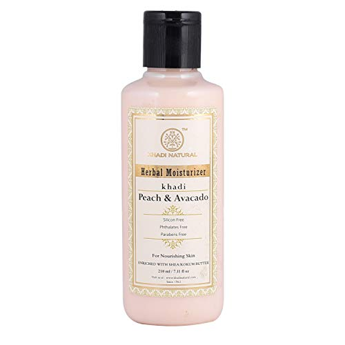 Khadi Natural Peach and Avacado Moisturizer, 210 ml
