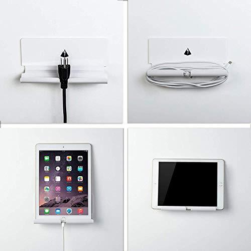 XIALINR Soporte de la Tableta de Pared Soporte Perezoso Compatible con iPad, Tableta de 7 a 10 Pulgadas y Todos los teléfonos Inteligentes Base de Carga de Pasta Universal Creativa