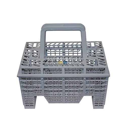 Genuine Electrolux Lavavajillas gris cesta de cubiertos 1118228004