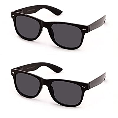 V.W.E Classic Outdoor Reading Sunglasses - Comfortable Stylish Simple Readers Rx Magnification - Not Bifocal