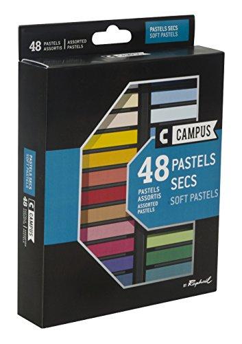 Campus - K60B.48 - Boîte de 48 Couleurs Pastels Secs
