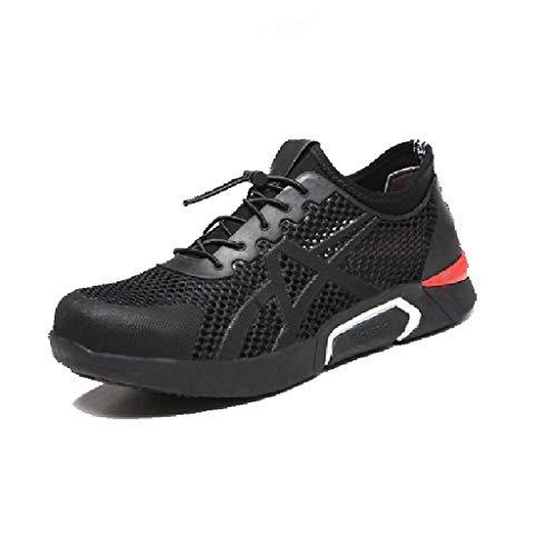 Zapatos de seguridad Calzado de trabajo for electricista, entrenador de seguridad antideslizante...