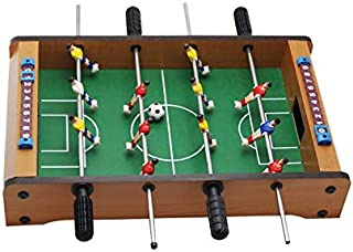 Festnight Juego de Mesa de F/útbol Futbolin Futbol/ín Color Arce 69X37X62 Cm 69 X 37 X 62 Cm