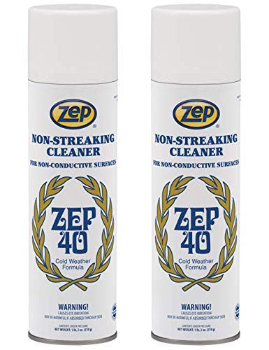 Zep 40 Non-Streaking Mulit-Surface Cleaner 18 ounces 14401 (Case of 2)