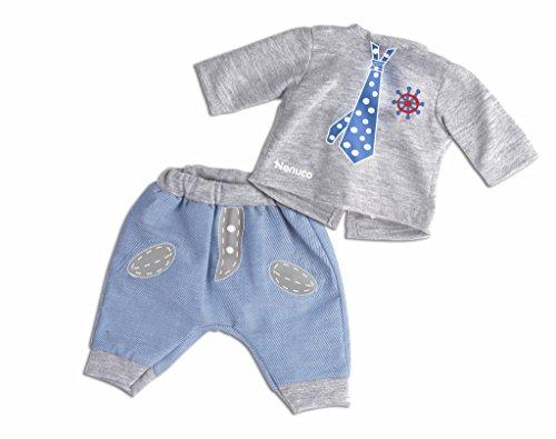 Nenuco - Ropita Casual 35cm. Pantalón azul + Pulóver Gris