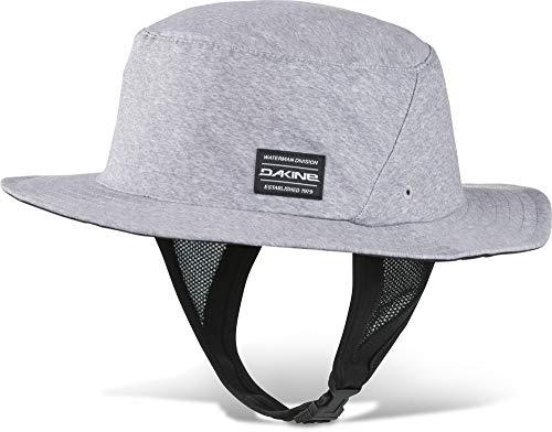 Dakine Indo Surf Hat Gray - Schnell Dry - Unisex - Floating Hut für die Wassernutzung konzipiert - Flips Krempe zum Paddeln bis