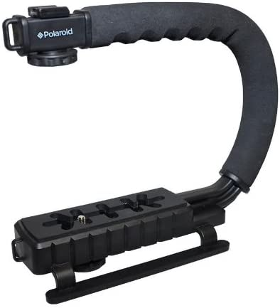 2021 Polaroid Sure-GRIP Professional high quality Camera / Camcorder Action Stabilizing Handle discount Mount outlet sale
