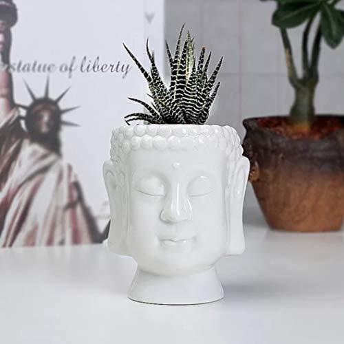 Boeddha hoofd Succulente Plant Pot Leuke Dier Bloem Planter Bloempot Ontwerp Mooie Kleine Dieren Thuis Tuin Bonsai Potten