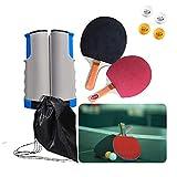 Red de Tenis de Mesa retráctil Ping Pong Set con Abrazaderas de Soporte Accesorio de Ping-Pong de Repuesto para Mesa de Ping Pong Escritorio de Oficina en el hogar de la Escuela
