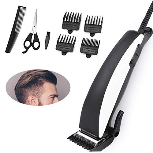 Cortapelos eléctricos Cortapelos para hombres Cortapelos con cable profesional Máquina de afeitar...