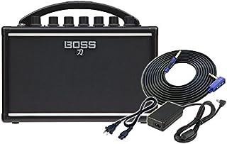 BOSS ギターアンプ KATANA-MINI [KTN-MINI] + 純正ACアダプター PSB-100 + 3m ギターケーブル VOX VGS-30 セット