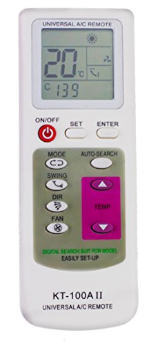 Navitech User Friendly AC Air Conditioning/Conditioner Remote Control Compatible With The LG Art Cool Stylist G09WL-NS3, G12WL-NS3