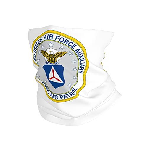 US Air Force Auxiliary Civil Air Patrol Neck Gaiter Face Mask Cooling Breathable UV Shield Balaclava Bandanas Headband for Women Men