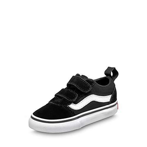 Vans Unisex Baby TD Ward V Sneaker, Schwarz ((Suede/Canvas) Black/White Iju), 23.5 EU