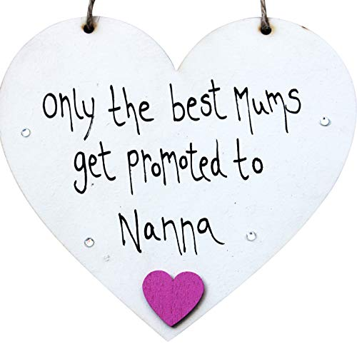 MadeAt94 Grandparents Christmas Only The Best Mums Get Promoted To Nanna...