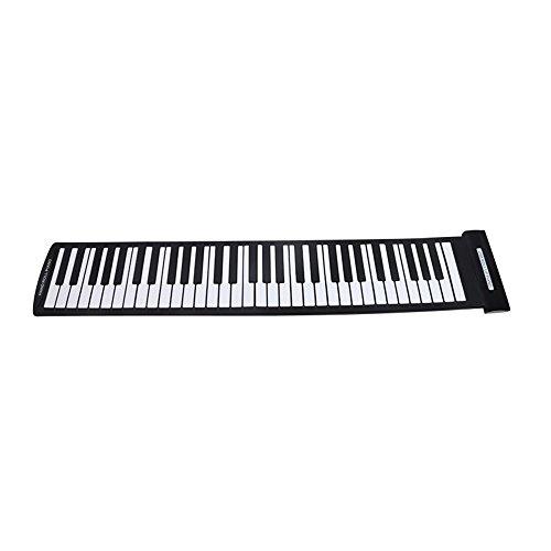 Piano enrollable flexible USB de 61 teclas