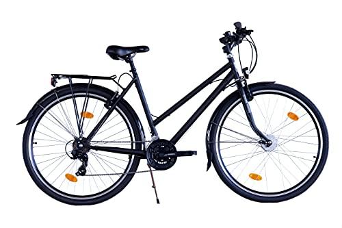 XB3 28 Zoll Fahrrad 21 Gang Shimano StVZO Nabendynamo LED Licht Standlicht schwarz