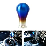 iJDMTOY JDM Burnt Titanium Finish Universal Fit Tear Drop Shift Knob, Compatible With Most Car 6-Speed, 5-Speed, 4-Speed Manual or Automatic, etc